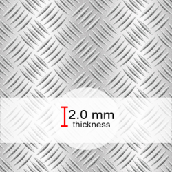 2.0mm Tread Plate